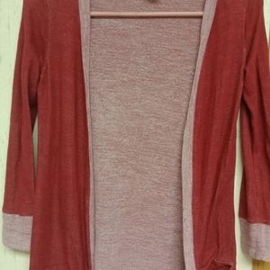 Women's Long Sleeve Throw on sweater jacket